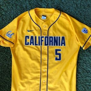 CAL Berkeley Bears Baseball Team NCAA PAC 12 Nike